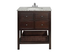 "Burnaby Dark Walnut 30"" Vanity"