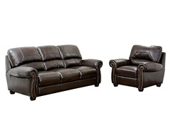 Turner Sofa & Armchair Leather Set
