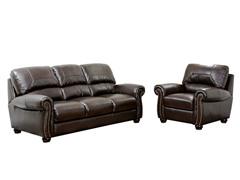 Turner Sofa & Armchair Leather Set