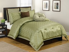 Winston 8Pc Comforter Set-Sage-2 Sizes
