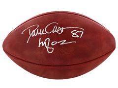 Dave Casper Signed Offical NFL Football