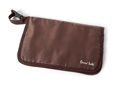 Brown Diaper Clutch