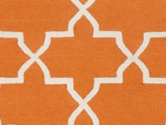 Orange Hand Tufted Rug (14-Sizes)
