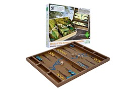Zoo Birds Wooden Backgammon Set