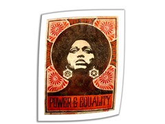 Power and Equality by Shep Fairey - Rolled Canvas