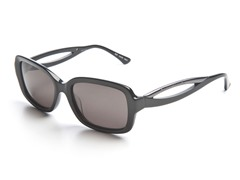 Black Sunglasses w/ Grey Lens