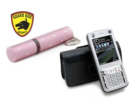 Concealed Lips or Hotline Stun Gun