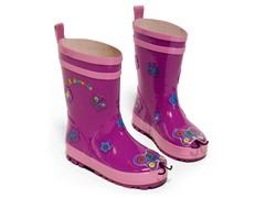 Butterfly Rain Boots