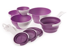 Chef'n 8-Piece Measuring Cups & Bowl Set