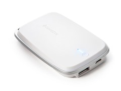 Polo 5000 mAh Mobile Power Bank - White