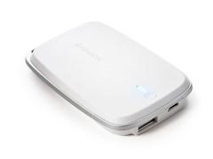 Polo 5000 mAh Mobile Power Bank - White