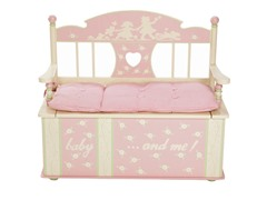 Rock a My Baby Bench Seat with Storage