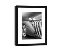 Framed Duesenberg in Motion