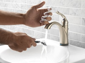 Delta Touch-Activated Faucet