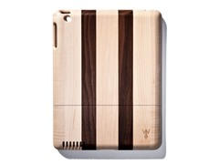 Walnut Dk. Stripes Cover for iPad 2 & 3
