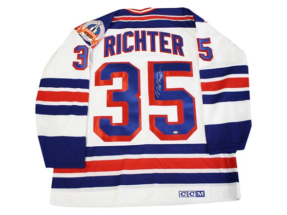 wholesale dealer 7833b 0a0fa Mike Richter NY Rangers Replica Jersey