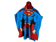 Superman Hooded Poncho - Youth