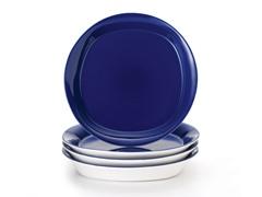 "9"" Pasta Bowls (4) - Blue"