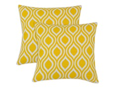 Nichole 17X17 Pillows - Corn - Set of 2