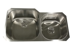35-Inch Kitchen Sink, Stainless Steel