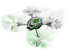 Sky Viper R/C 2.4GHz Stunt Quadcopter