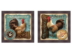Rooster Set of 2