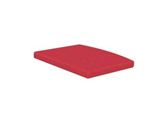 Traditional Dining Cushion, Logo Red