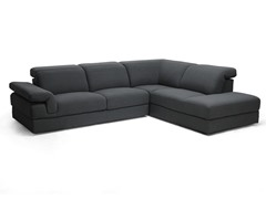 Liesel Dark Gray Modern Sectional