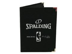 "Spalding NBA 5""x 7"" Padfolio - Black"