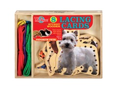 Favorite Pets Lacing Cards