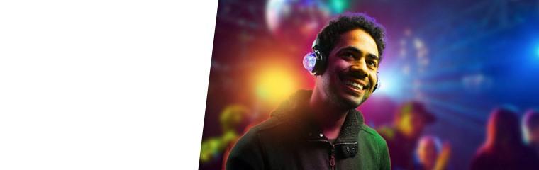 LED Wireless Headphones