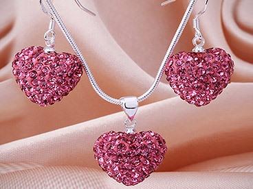 Swarovski Elements Pave Jewelry Sets