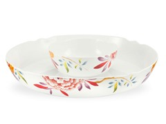 Spode Lucia Chip and Dip Bowl, 2-pc
