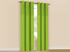 Set of 2: Annecy Grommet Pair Panels Lime