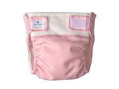 2-Piece Pink Ruffles Reusable Diaper Set