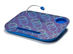Lapdesk Cushion w/ LED Light - Blue
