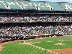O.co Coliseum, Oakland Athletics