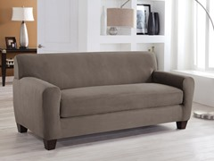 Sofa Box Stretch Fit Slipcover- Multiple Colors