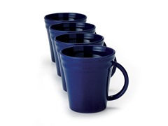 Blue Mugs Set of (4) 12 oz.