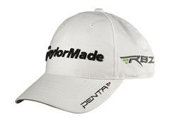 TaylorMade Radar Velcro Tour Hat - White