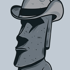 Easter Island style