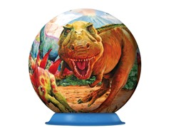 108-Piece Dinosaurs 3-D Puzzle Ball