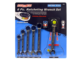 Channellock Metric Ratcheting Wrench Set