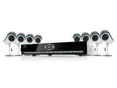 8CH 500GB DVR Kit w/ 8 Hi-Res Cameras