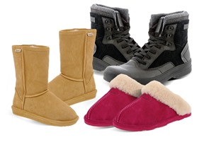 Men's and Women's Bearpaw Footwear