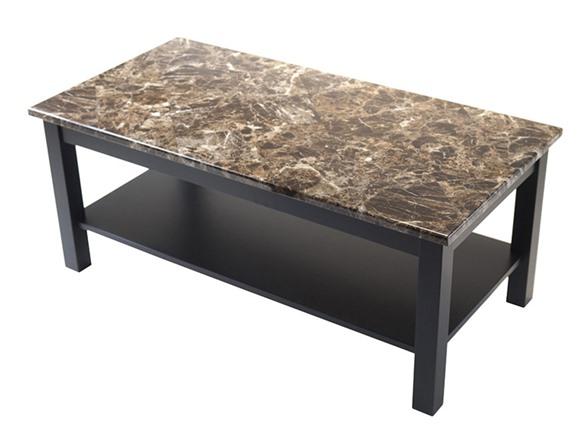 Torri Coffee Table Faux Marble Top