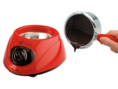Electric Chocolate Melting Pot- Red
