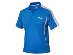 Fila Blocker Polo Shirt, Palace Blue (S)