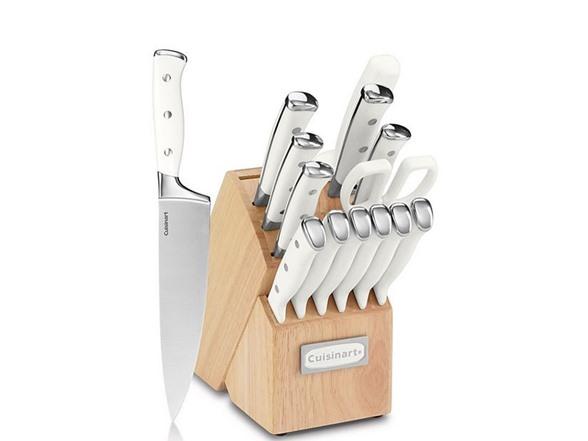 Cuisinart 15pc Triple Rivet Block Set