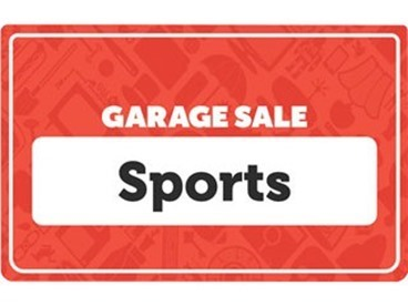 Sports and Outdoors Garage Sale